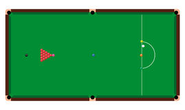 Tabela de Snooker Fotos de Stock