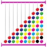 Tabela do ábaco Imagem de Stock