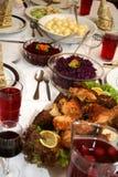 Tabela do alimento Imagens de Stock Royalty Free