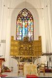 Tabela do altar Foto de Stock