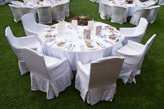 Tabela do banquete Imagens de Stock Royalty Free