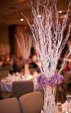 Tabela do banquete de casamento Fotos de Stock Royalty Free