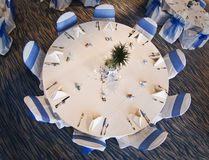 Tabela do banquete de casamento Imagens de Stock Royalty Free
