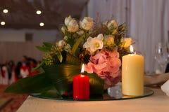 Tabela do casamento Foto de Stock Royalty Free
