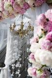 Tabela do casamento Imagens de Stock Royalty Free