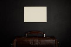 Tabela do escritório com acessórios Fotografia de Stock