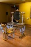 Tabela do espelho, Louvre Paris Fotos de Stock