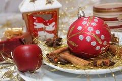 Tabela do Natal Fotos de Stock Royalty Free