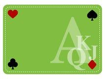 Tabela do póquer Imagens de Stock