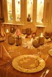 Tabela do restaurante fotografia de stock royalty free