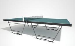 Tabela do tênis de mesa ilustração stock
