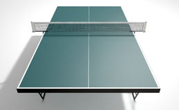 Tabela do tênis de mesa ilustração royalty free
