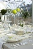 Tabela festiva Wedding imagens de stock royalty free