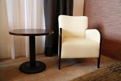 tabela krzesło Zdjęcia Royalty Free