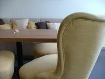 tabela lounge przytulnie Fotografia Stock