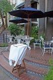 tabela menu restauracji Zdjęcia Stock
