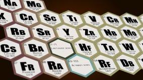 Tabela periódica da animação dos elementos filme