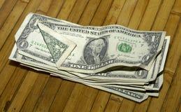 tabela pieniądze Zdjęcie Stock