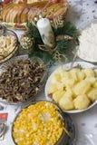 tabela polskich świąteczne zdjęcie stock