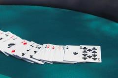 tabela w pokera. Obraz Royalty Free