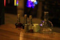 tabela zbiór przyprawy oleju Zdjęcie Royalty Free