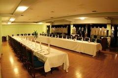 Tabelas de jantar Fotografia de Stock
