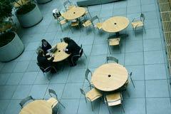 Tabelas de reunião Foto de Stock Royalty Free