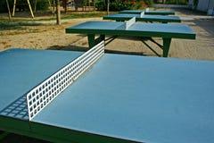 Tabelas do pong do sibilo Imagens de Stock