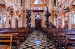 Tabell av kyrkan Royaltyfri Bild