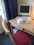 tabell för lokal för kanthotellPC Royaltyfri Foto