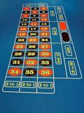 tabell för roulett för kasino verklig skjuten period Fotografering för Bildbyråer