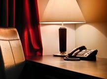 tabell för hotell s Arkivbild