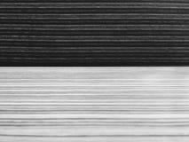 Tabell- och platslinje modeller i svartvitt Royaltyfria Foton
