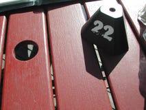 Tabella 22 immagini stock
