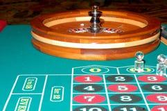 Tabella 5 delle roulette Fotografie Stock Libere da Diritti