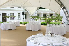 Tabella celebratoria Wedding Immagini Stock