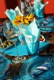 Tabella decorata fotografia stock libera da diritti