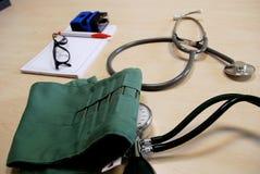 Tabella del medico Fotografie Stock