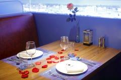 Tabella del ristorante ungherese, adobe rgb immagine stock