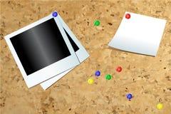 Tabella del sughero Fotografia Stock Libera da Diritti
