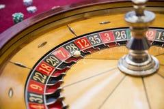 Tabella delle roulette Fotografie Stock