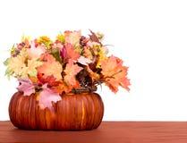 Tabella di autunno Immagini Stock Libere da Diritti