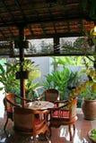 Tabella di Balinese Immagine Stock Libera da Diritti