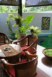 Tabella di Balinese Fotografie Stock Libere da Diritti