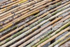 Tabella di bambù Fotografia Stock