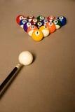 Tabella di Billard Fotografia Stock Libera da Diritti