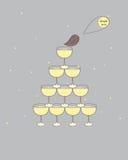 Tabella di buffet Fotografia Stock Libera da Diritti