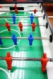 Tabella di calcio-balilla dalla cima Immagine Stock