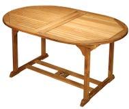 Tabella di legno Immagine Stock