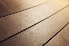 Tabella di legno Fotografie Stock